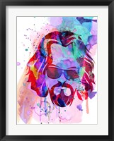 Dude Watercolor Fine-Art Print