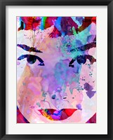 Audrey Watercolor Fine-Art Print