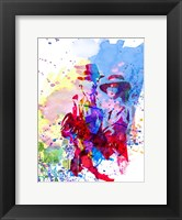Casablanca Watercolor Fine-Art Print