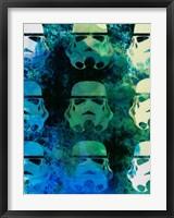 Star Warriors Watercolor 1 Fine-Art Print