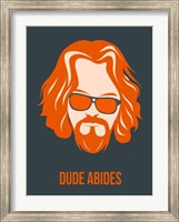 Dude Abides Orange Fine-Art Print