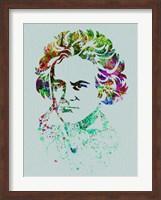 Beethoven Watercolor Fine-Art Print