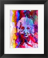 Einstein Watercolor Fine-Art Print
