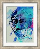 Gandhi Watercolor 1 Fine-Art Print