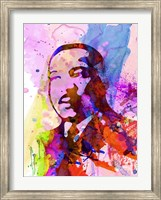 Martin Luther King Watercolor Fine-Art Print