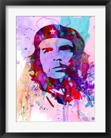 Che Guevara Watercolor 2 Fine-Art Print