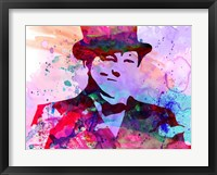 Churchill Watercolor Fine-Art Print