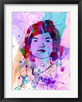 Jackie Kennedy Watercolor Fine-Art Print