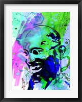Gandhi Watercolor 2 Fine-Art Print