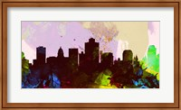 Salt Lake City Skyline Fine-Art Print