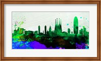 Barcelona City Skyline Fine-Art Print