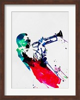 Miles Watercolor Fine-Art Print