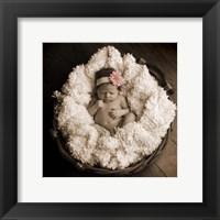 Baby in Basket 2 Fine-Art Print