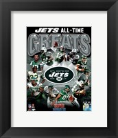 New York Jets All Time Greats Composite Fine-Art Print