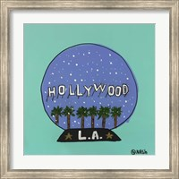 L.A. Snow Globe Fine-Art Print