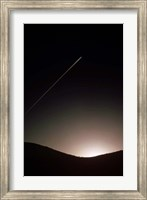 Contrail At Dusk Fine-Art Print