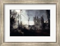 Granite Fire II Fine-Art Print