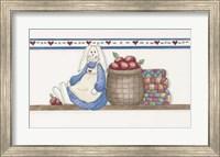 Apple Bunny Fine-Art Print