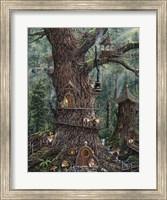 Gnomes Sweet Home Fine-Art Print