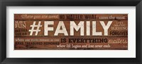 #FAMILY Is Everything Fine-Art Print