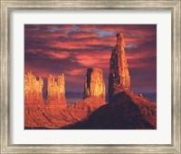 Fiery Castles Fine-Art Print