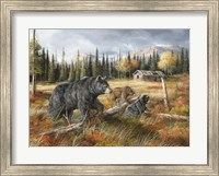 Careful Through The Meadow Fine-Art Print