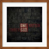 The Pledge Of Allegiance Fine-Art Print