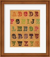 ABC Vintage Fine-Art Print