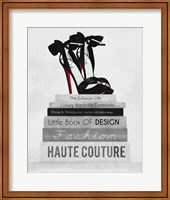 Fashionista Reads 3 Fine-Art Print