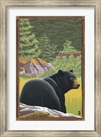 Black Bear 1 Fine-Art Print