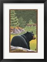 Black Bear 1 Fine-Art Print