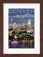 Denver Night Fine-Art Print