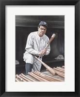 Babe Ruth On Deck Fine-Art Print