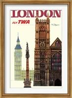 Fly to London Fine-Art Print