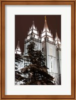 Mormon Temple, Salt Lake City, Utah Fine-Art Print