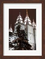 Mormon Temple, Salt Lake City, Utah Fine-Art Print