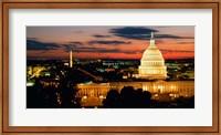 City at Dusk, Washington DC Fine-Art Print
