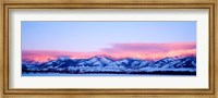 Bridger Mountains Sunset, Montana Fine-Art Print