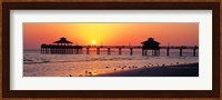 Sunset at Fort Myers Beach, FL Fine-Art Print
