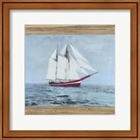 Seagrass Nautical I Fine-Art Print