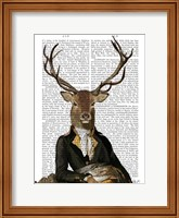 Deer in Chair Fine-Art Print