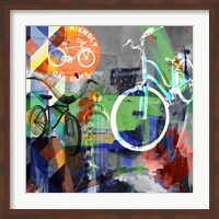 Lakewood Bikes - Dallas Fine-Art Print