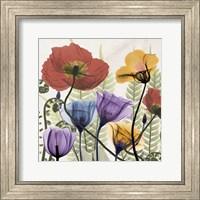 Flowers And Ferns Fine-Art Print