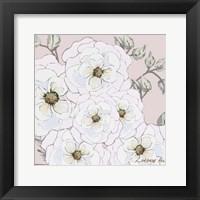 White Flowers on Nude 1 Fine-Art Print