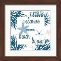 Beach House Fine-Art Print