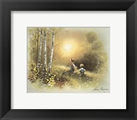 Kids in the Woods Fine-Art Print