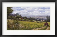 Tractor At Little Eaton Fine-Art Print