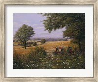 Red Tractor Fine-Art Print