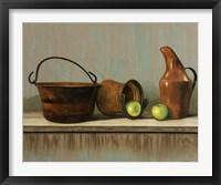 Rustic Cooking Pots Fine-Art Print