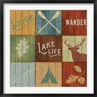 Lake Lodge VII Fine-Art Print